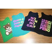 Regatas Camiseta Feminina Fitness Academia
