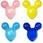 Balão Orelha Cabeça Mickey Diversas Cores - Pacote 50 Balões