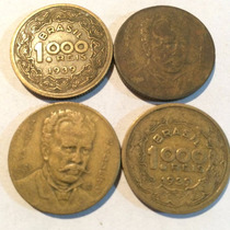Moeda Antiga De 1000 Reis 1939