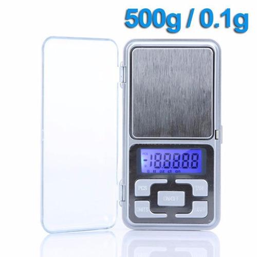 f912e1becd3 Mini Balança Digital De Bolso Até 500g Alta Precisão