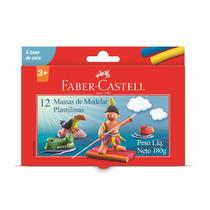 Massa De Modelar Com 12 Cores - Faber Castell