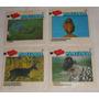 Ping Pong Pantanal Lote Com 4 Figurinhas Chiclete 1 33 36 50
