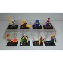 Colecao Completa Com 8 Bonecos Lego Bob Esponja