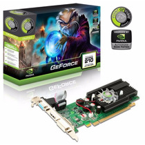 Placa De Vídeo Geforce Gt210 1gb Ddr3 Nvidia Vga-dvi-hdmi