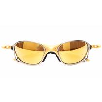 Oculos Double Xx 24k Gold Oakley 100 % Original Barato Ofert