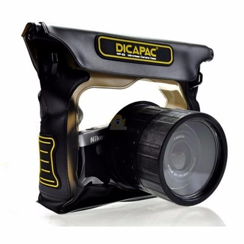 Capa Aquatica Prova D�gua Dicapac Cameras Profissionais Wps3