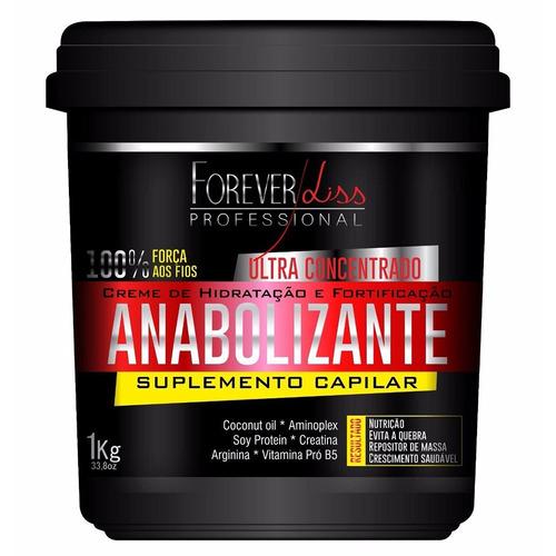 Forever Liss Anabolizante Capilar - Creme De Hidratação 1kg