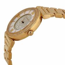 Relógio Michael Kors Mk3332 Dourado Compre E Parcele Em 12x