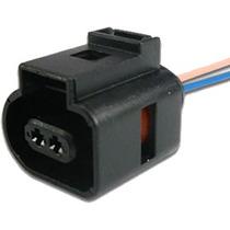 Chicote Conector 2 Vias Vw Gol Sensor Detonacao Temp Atx