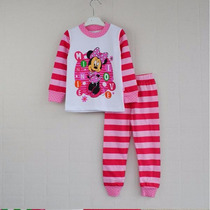 Pijamas Infantil Disney Roupa Desenhos - Minie