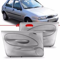 Par Forro Porta Fiesta 2001 2000 99 A 96 Dianteira 4p Cinza