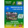 Apostila Concurso Prefeitura Cascavel Pr Professor Pei 2015