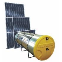 Kit Aquecedor Solar 200litros Com Reservatorio E Placas