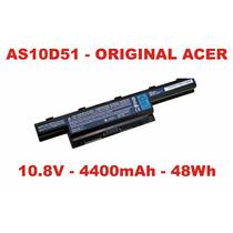 Bateria As10d51 Acer E1 531 571 10.8v 4400mah 48wh