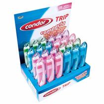 Escova Dental Condor Nova Trip - Cx/ 24