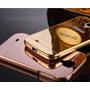 Capinha Bumper Celular Galaxy S4 Metal I9500 +pelicula Vidro