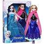 Kit Frozen 2 Boneca 1 Tolha De Banho 1 De Rosto 1 Boné