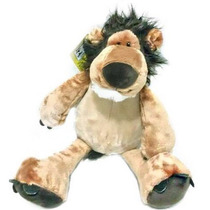 Leão De Pelúcia Safári Bebê Criança Berço - Fofy Toys