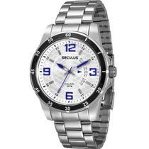 Relógio Seculus Masculino Long Life 28373g0svna1 Novo