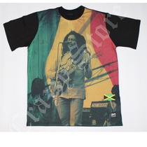Camiseta Chronic 420 Bob Marley Reggae Roots Crazzy Store