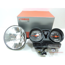 Painel + Bloco Optico Farol Original Yamaha Ybr/factor 125