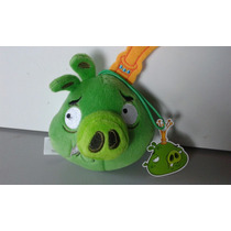 Porco Rei De Pelúcia Angry Birds Mc Donalds