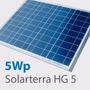 Painel Placa Solar Fotovoltaico 5wp Hg5 Marca Solarterra
