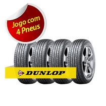 Kit Pneu Aro 15 Dunlop 205/60r15 Splm704 91v 4 Unidade