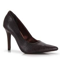 Sapato Scarpin Feminino Via Marte - Cafe
