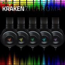 Headset Fone Razer Kraken Pro 7.1 Chroma P/ Ps4 Pc Mac C/mic