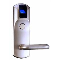 Fechadura Biométrica E Cartão - Aço Escovado
