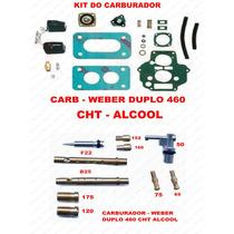 Kit Carburador Weber 460 Alcool Escort-verona Cht 1.6 84/86