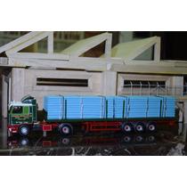 Corgi 1:50 Caminhão Scania 113 + Carreta Transporte De Canos