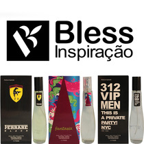 Kit 05 Perfumes Registro Na Anvisa Nota Fiscal Frete Gratis