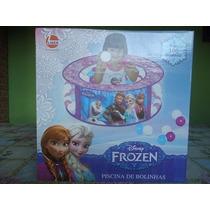 Piscina De Bolinhas Infantil Disney Frozen Com 100 Bolinhas.
