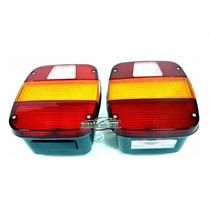 2 Lanterna Traseira Caminhão Vw / Ford Todos ( Marmitão )