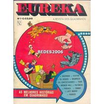Eureka Nº 1 - Editora Vecchi - Jeff Hawke - 1974