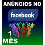 Anúncios De Produtos E Serviços Dentro Do Facebook