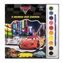 Livro Para Colorir Aquarela Carros Disney - Dcl