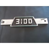 Emblema-3100 Da Grade P/ Chevrolet Brasil,pick-up E Caminhão