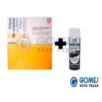 Filtro Cabine + Limpa Ar Condicionado Gol G5 Voyage Polo Fox