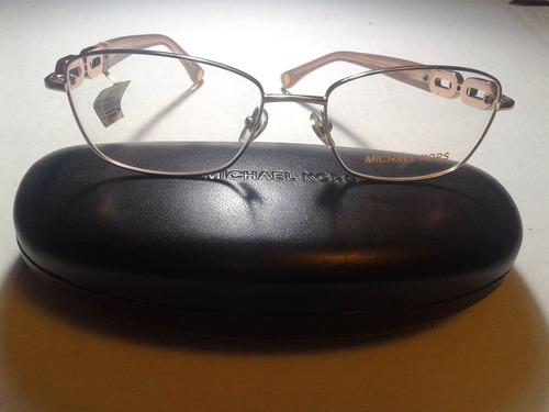Armação Óculos Grau Michael Kors Mk363 717 Fem 52x17 Ref 176. R  269.9 eecdacd902