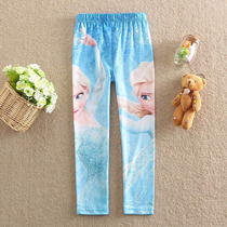 Calça Legging Infantil - Frozen Suplex - Pronta Entrega!!