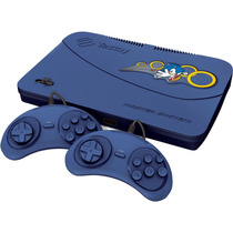 Console Tectoy Master System Evolution C/ 132 Jogos Blue