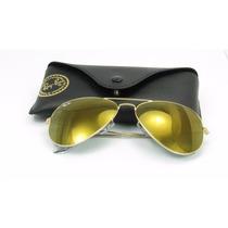 Ray Ban Aviador Rb3025 W3276 Lentes Gold Original Frete Grat
