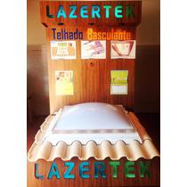 Claraboia Domos Lazertek 0,85 X 1,85 Iluminação, Ventilação