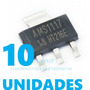 10x Regulador Tensão Ams1117 1.8v Ams