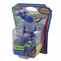 Super Wings Jerome Se Transforma Mini Change Em Up