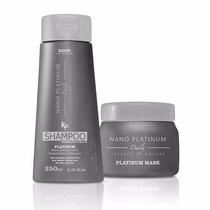Shampoo + Máscara Nano Platinum Kaedo