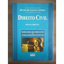 Livro Direito Civil Oitava Edição Sílvio De Salvo Venosa
